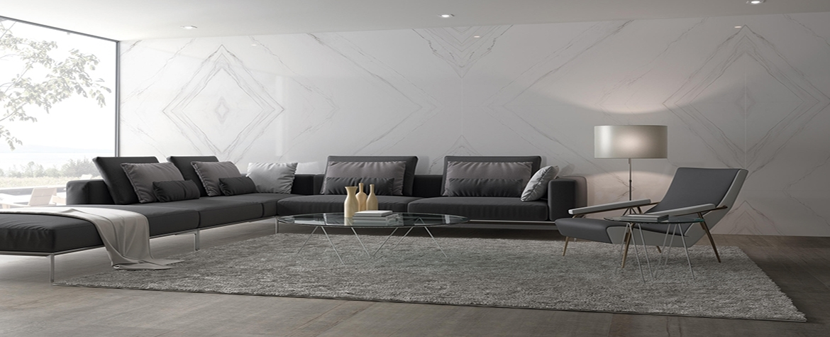 Porcelain Tiles/Slabs for Wall Applications.